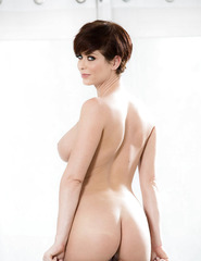 Short Hair Model Emily Addison - 10