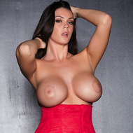 Alison Tyler Showing Off Her Huge Tits
